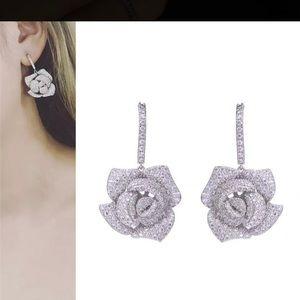 Fashion Rose Earrings